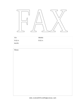 This Printable Fax Cover Sheet Has The Word  Fax Cover Letters