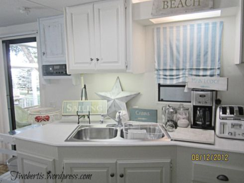 Mobile Home Decorating: Beach Style Makeover | Mobile home ...