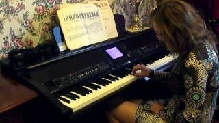 Смотреть онлайн видео Урок игры №1 на фортепиано, для ...