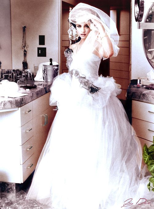 Pin By Mrs Allen On Madonna Wedding Dresses Madonna Dresses