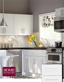 "Newport Kitchen Cabinets newport pacific white - home depot ""semi custom"" 