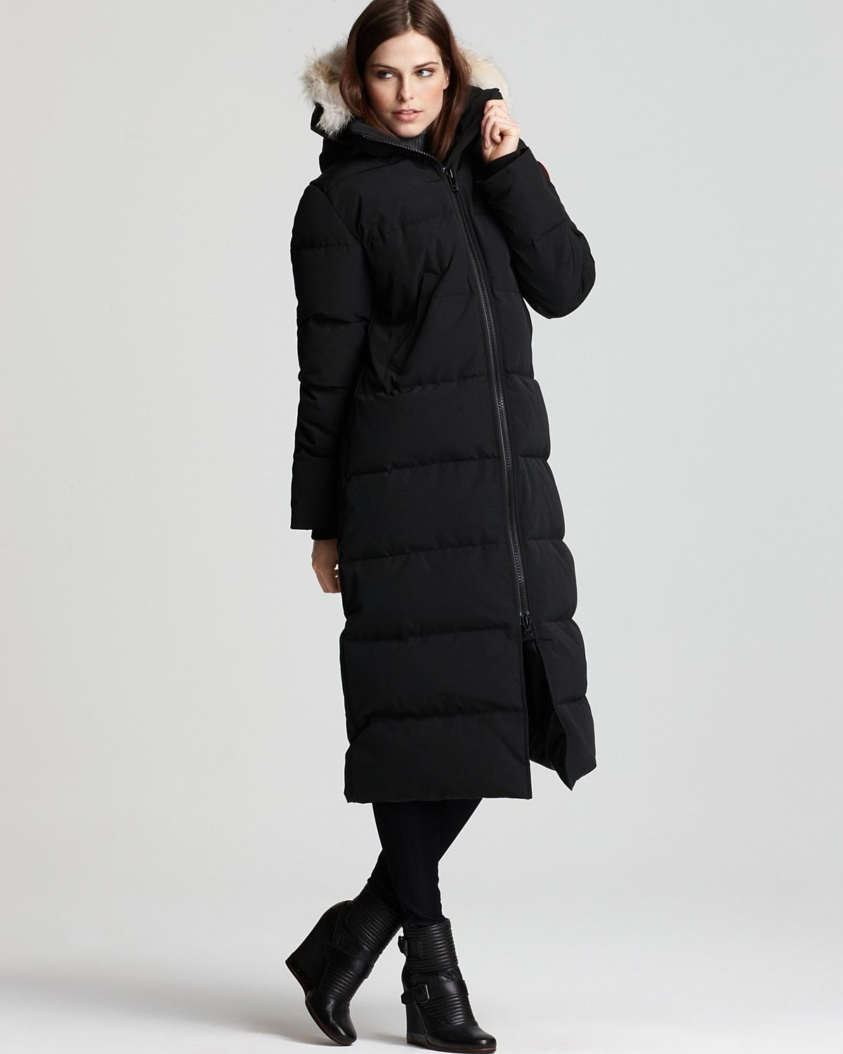 canada goose 2015 new jacket black womens