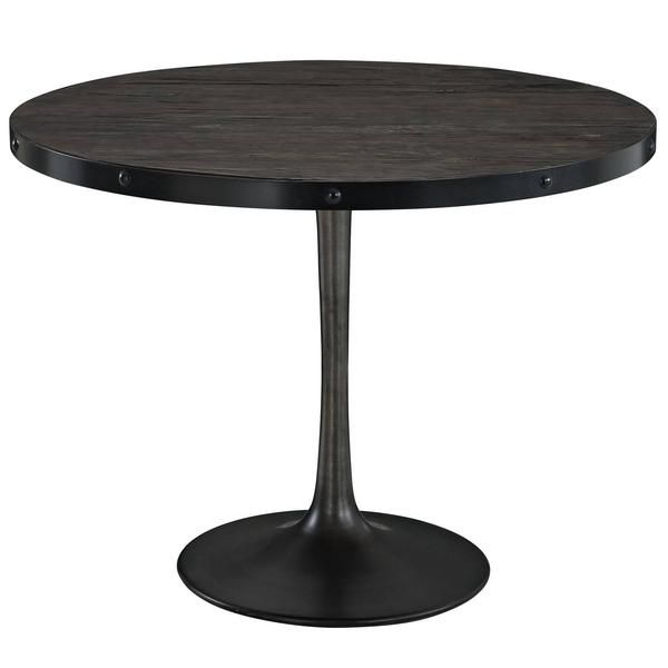 Industrial Modern Wooden Top Dining Table