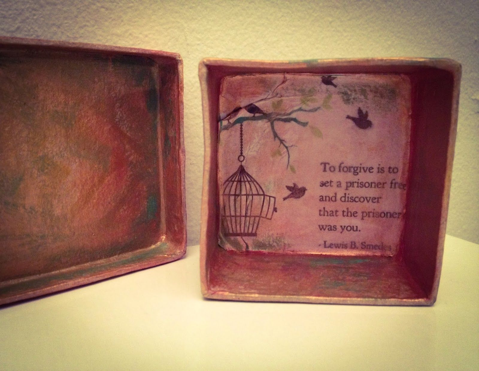 Forgiveness Boxes Art Therapy Spot