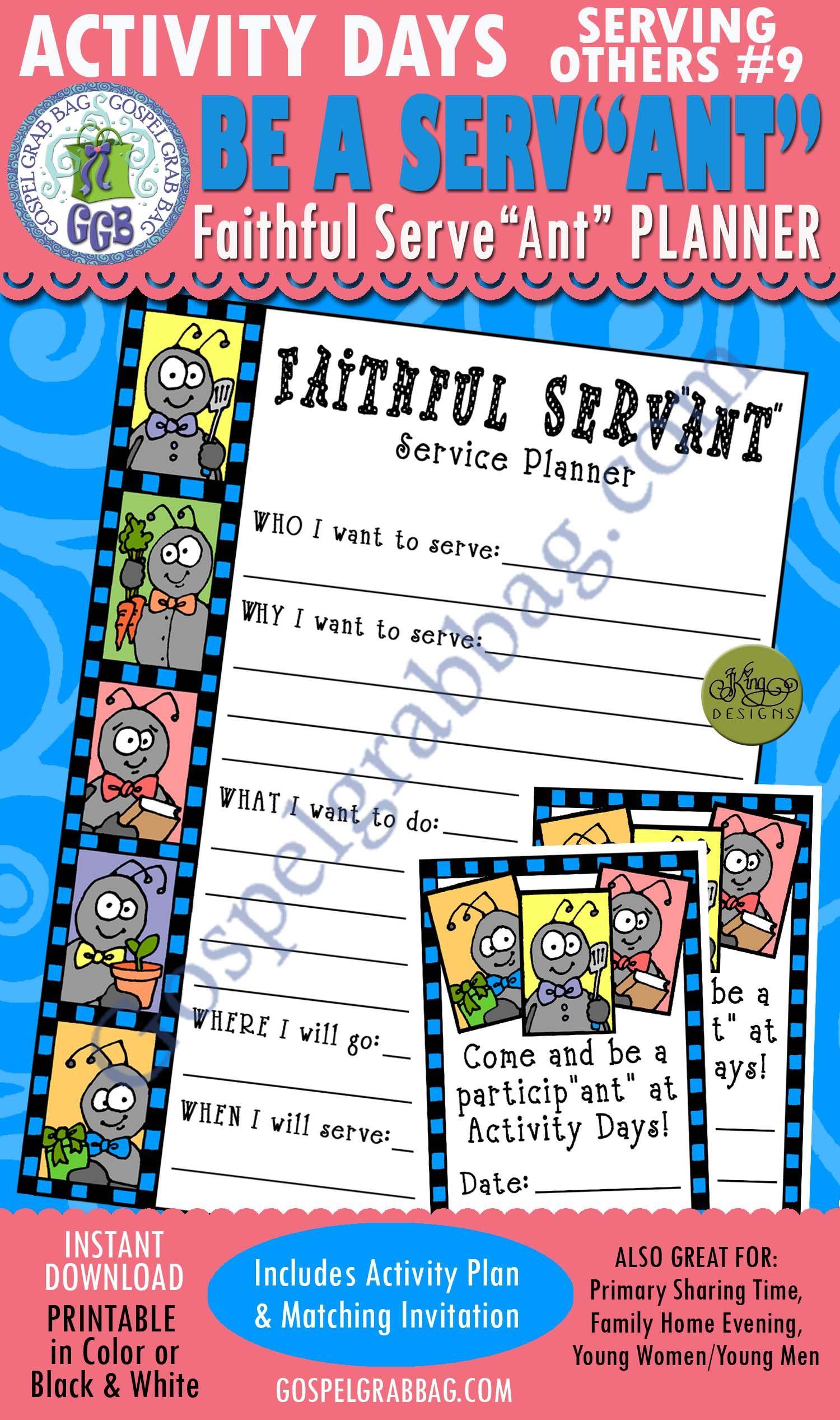 Service Lds Activity Days Serving Others