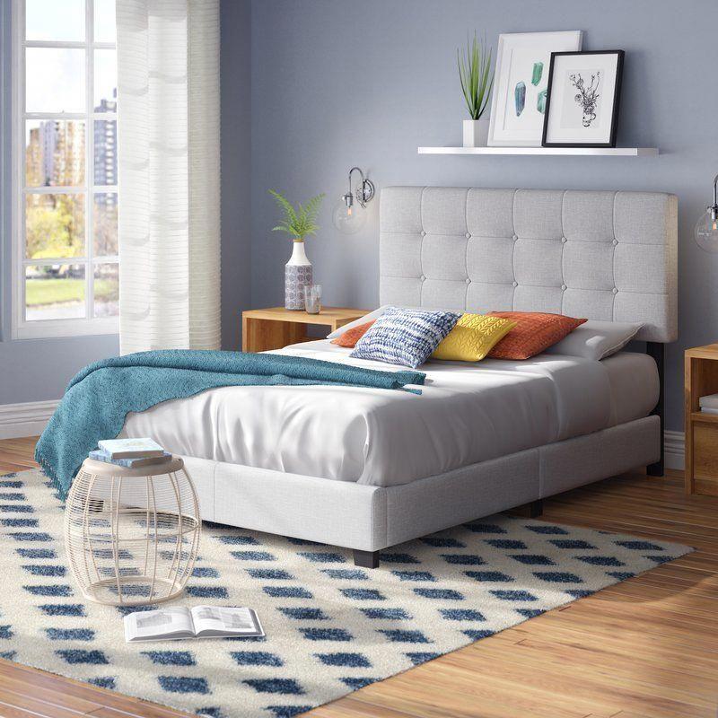 Janicki Upholstered Panel Bed Homedecorlivingroom Upholstered Panel Bed Bedroom Design Bedroom Decor