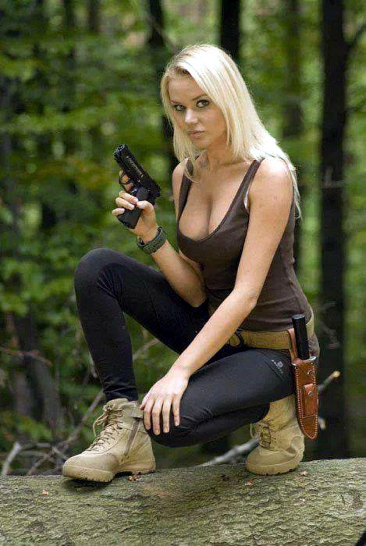 Pin By B M On Ladies And Thier Guns  Girl Guns, Guns -2528