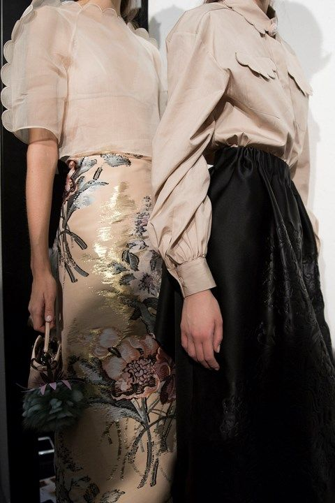 1c9b382aa681f Backstage at Fendi SS17 MFW Dazed