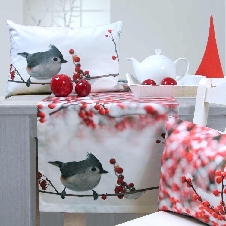 weihnachten 2015 tischl ufer und kissen stormy von sander. Black Bedroom Furniture Sets. Home Design Ideas