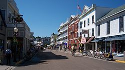 Norman and Jean went in 1981 and say it is a most do Downtown Mackinac Island along M-185