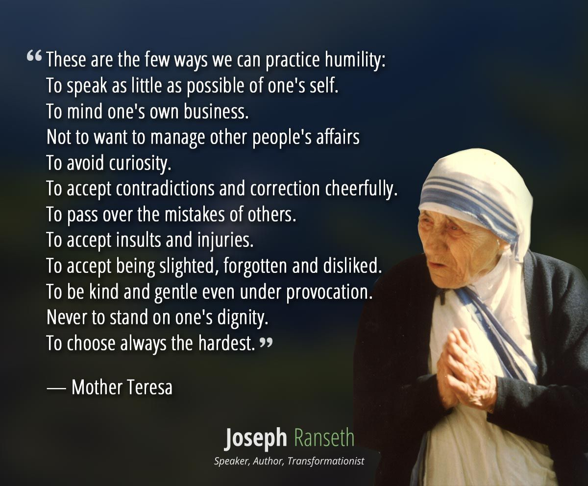 15 Mother Teresa quotes to cultivate love and passion Joseph Ranseth
