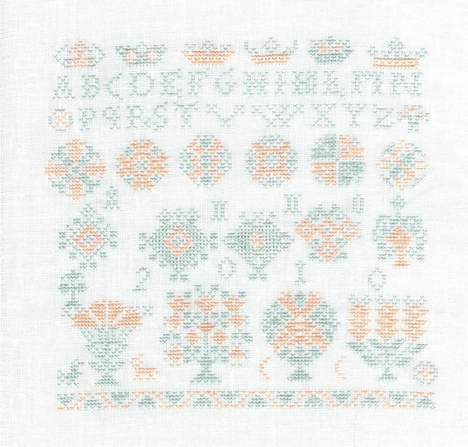 Needleprint marquoir de Bertie