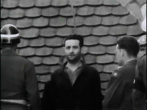 Execution Of Martin Gottfried Weiss. Dachau SS Obersturmbannfuhrer on