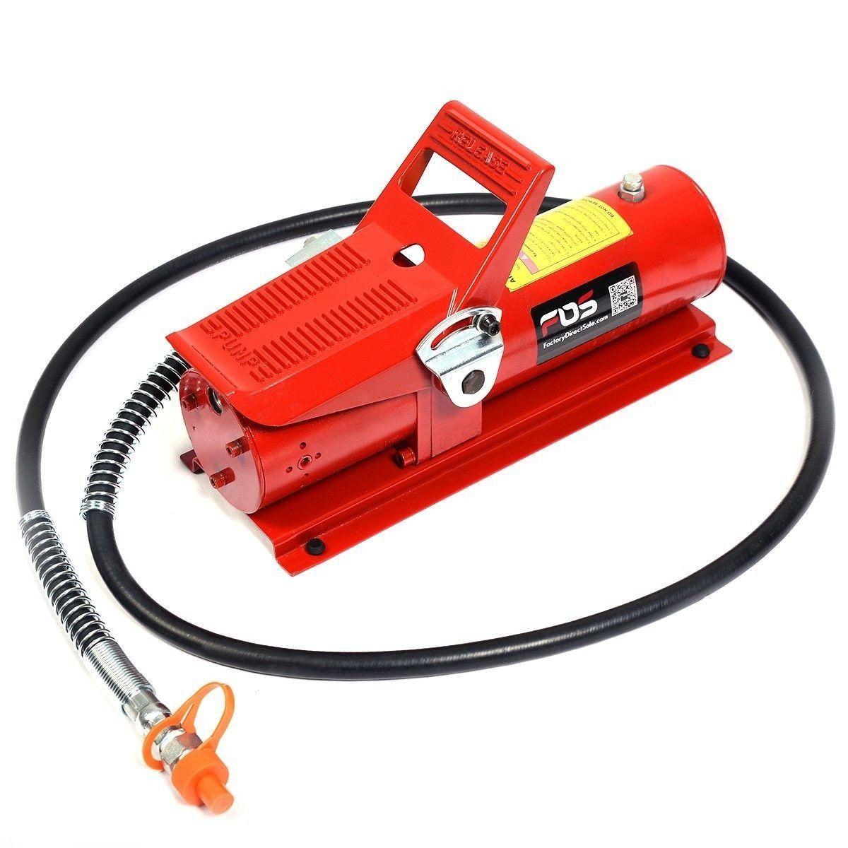 10 Ton Porta Power Hydraulic Air Foot Pump Control Lift