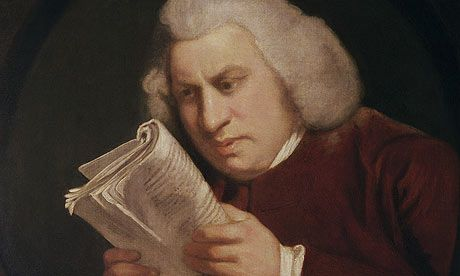 Samuel Johnson and his Dictionary