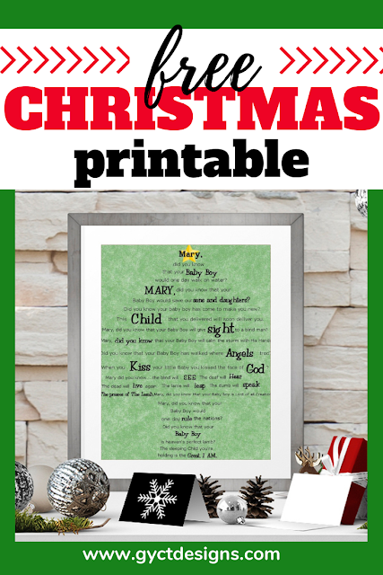 Christmas Printable Mary Did You Know Tree Art Free Christmas Printables Christmas Printables Best Friend Christmas Gifts