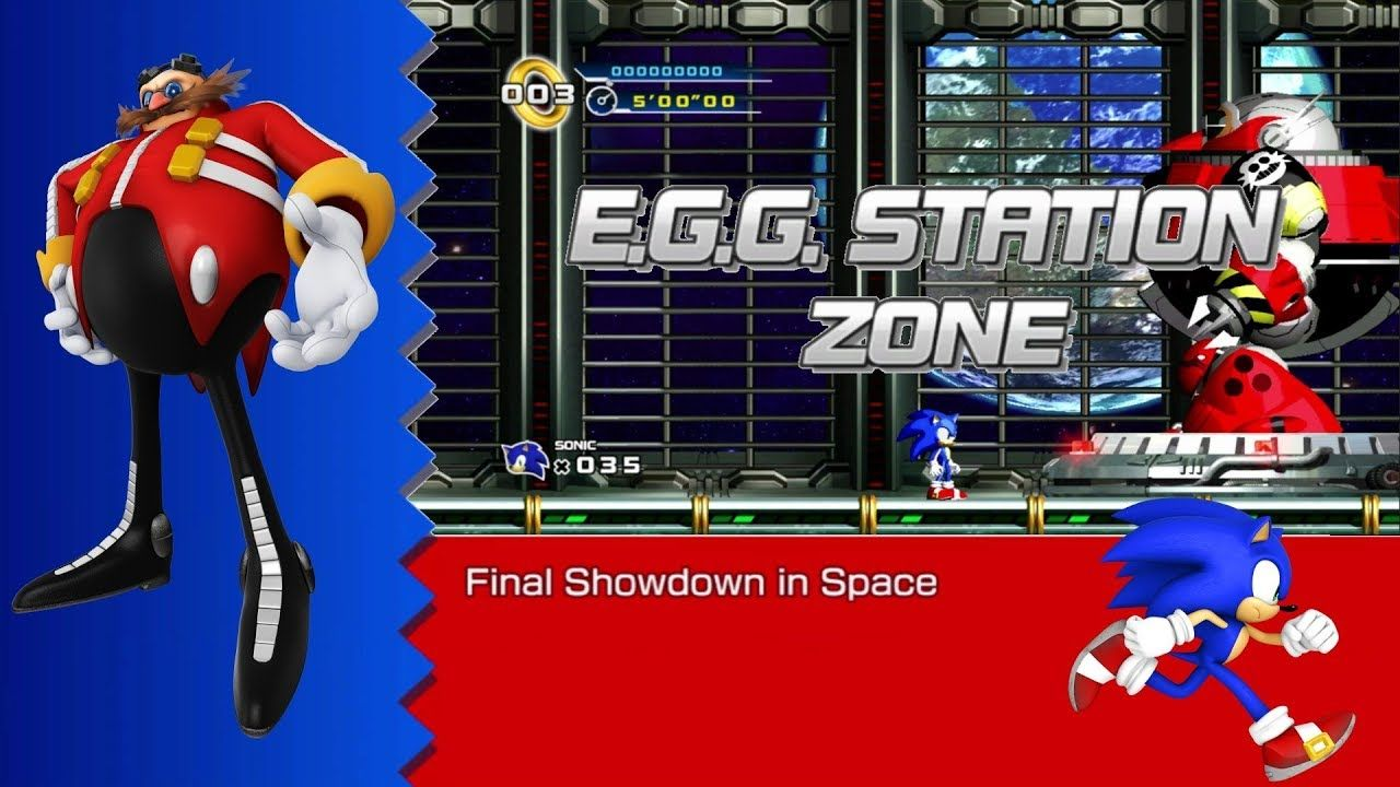 Egg Station Zone Boss Final Showdown In Space Death Egg Robot