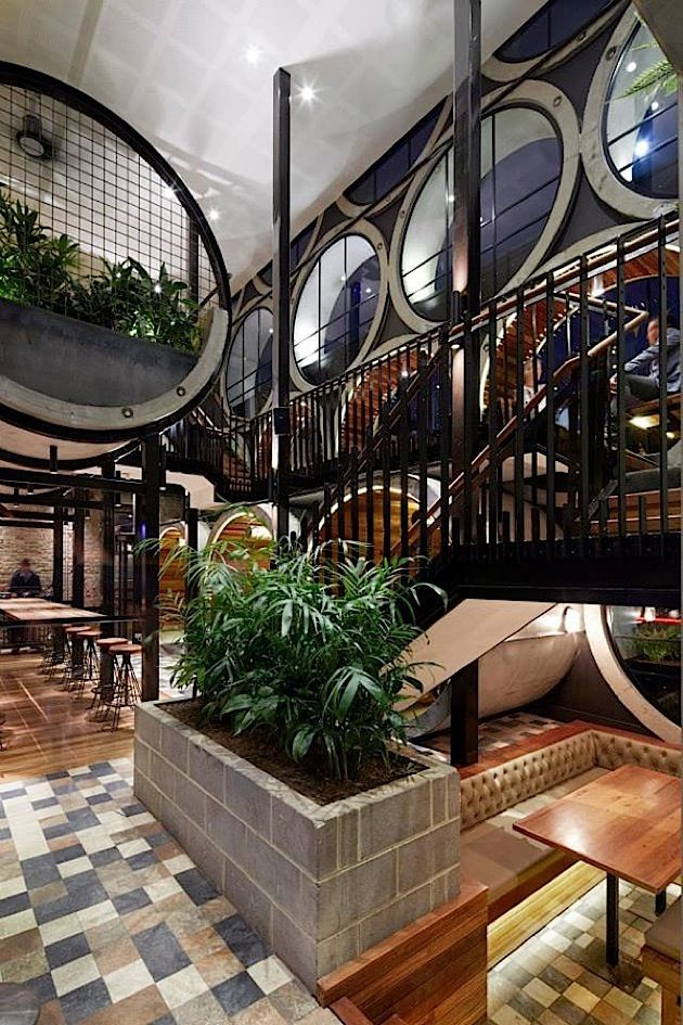 Architektur: Gemütliches Restaurant In Melbourne | KlonBlog