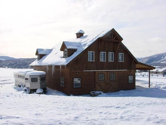 The Denali Barn Apt 48 - Barn Pros   Barn apartment, Barn ...