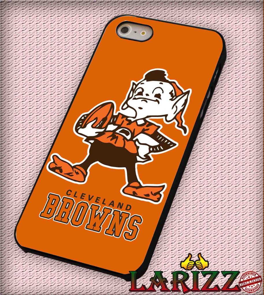 """cleveland browns for iPhone 4/4s, iPhone 5/5S/5C/6/6 , Samsung S3/S4/S5, Samsung Note 3/4 Case """"007"""""""