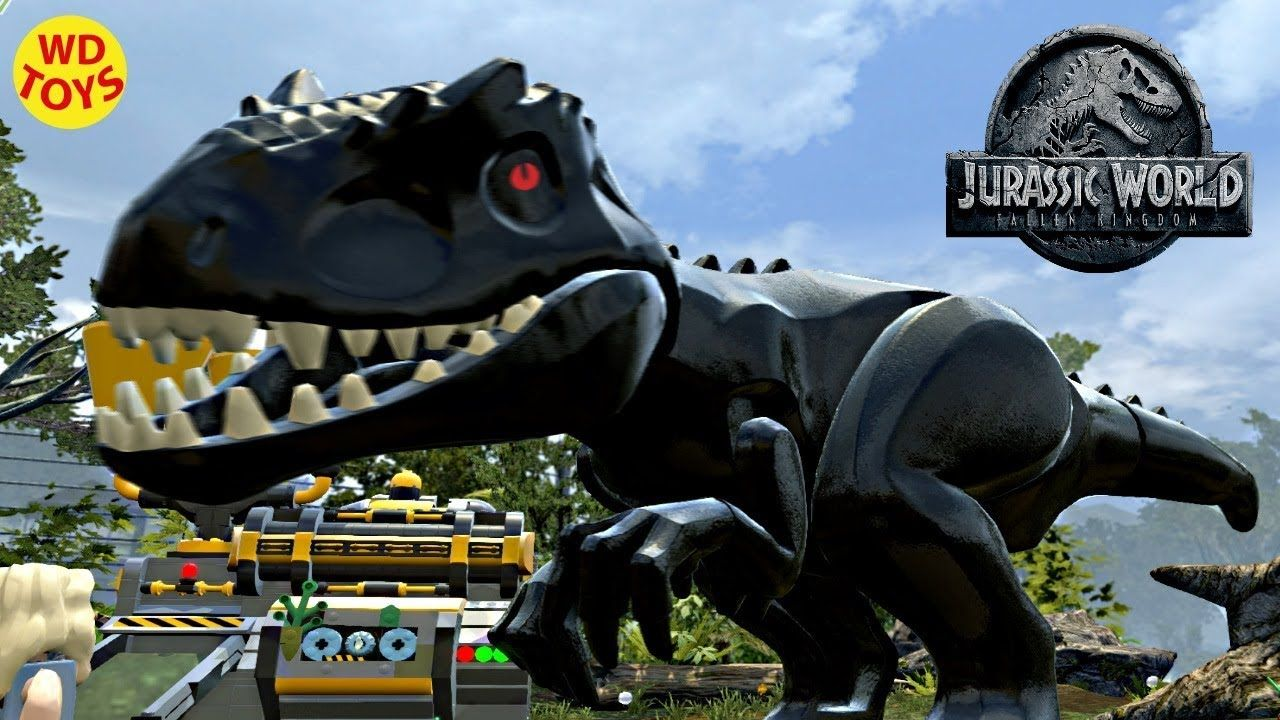 Jurassic World Lego Game Indoraptor Hybrid Indominus Rex