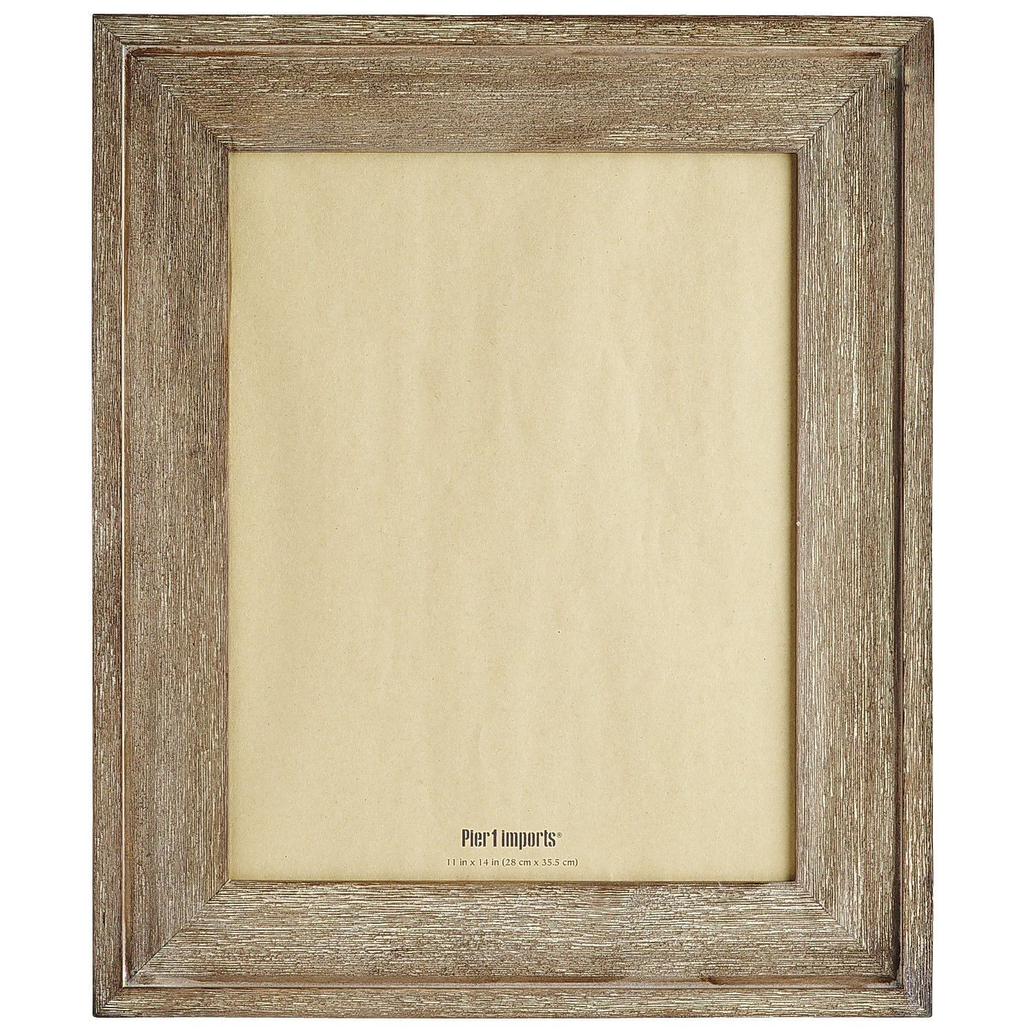 Barn Wood Smoke Gallery Frame - 11x14 | Pier 1 Imports | Framing ...