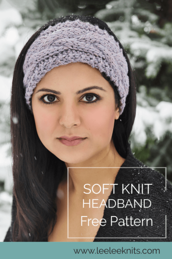 The Softest Knit Winter Headband - Leelee Knits