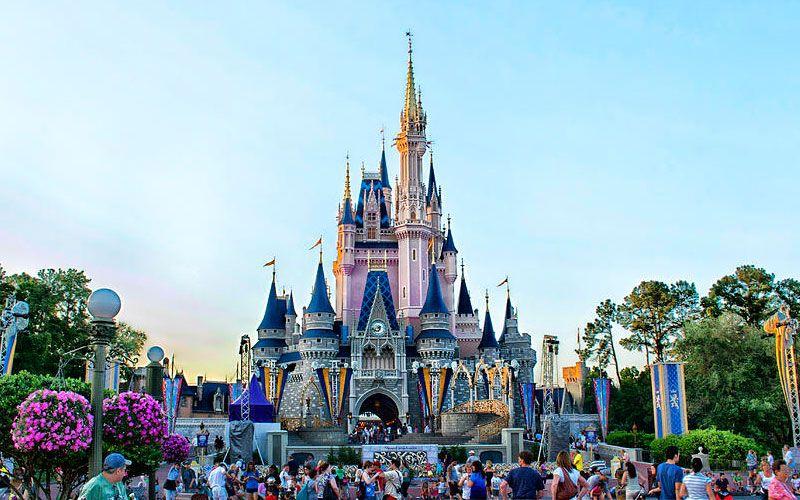 Castelo Cinderela Disney Magic Kingdom