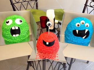 Sugar+and+Spice+and+Everything+Iced:+Monster+1st+Birthday