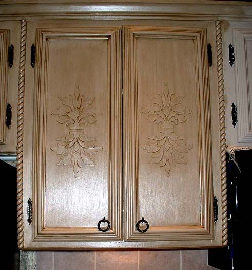 Decorative Molding Kitchen Cabinets - Rooms