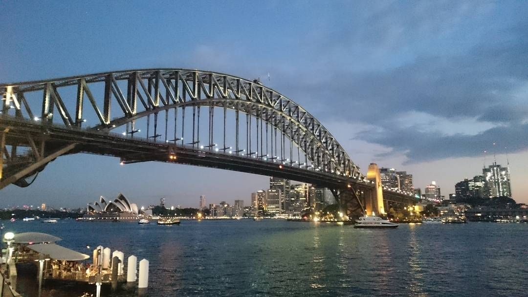 Current view #Sydney #scenery #wedding #joelandmarisssa #lunapark by schuie.k