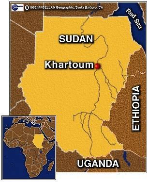 Khartoum Capital Of Sudan Travel Flying Visits