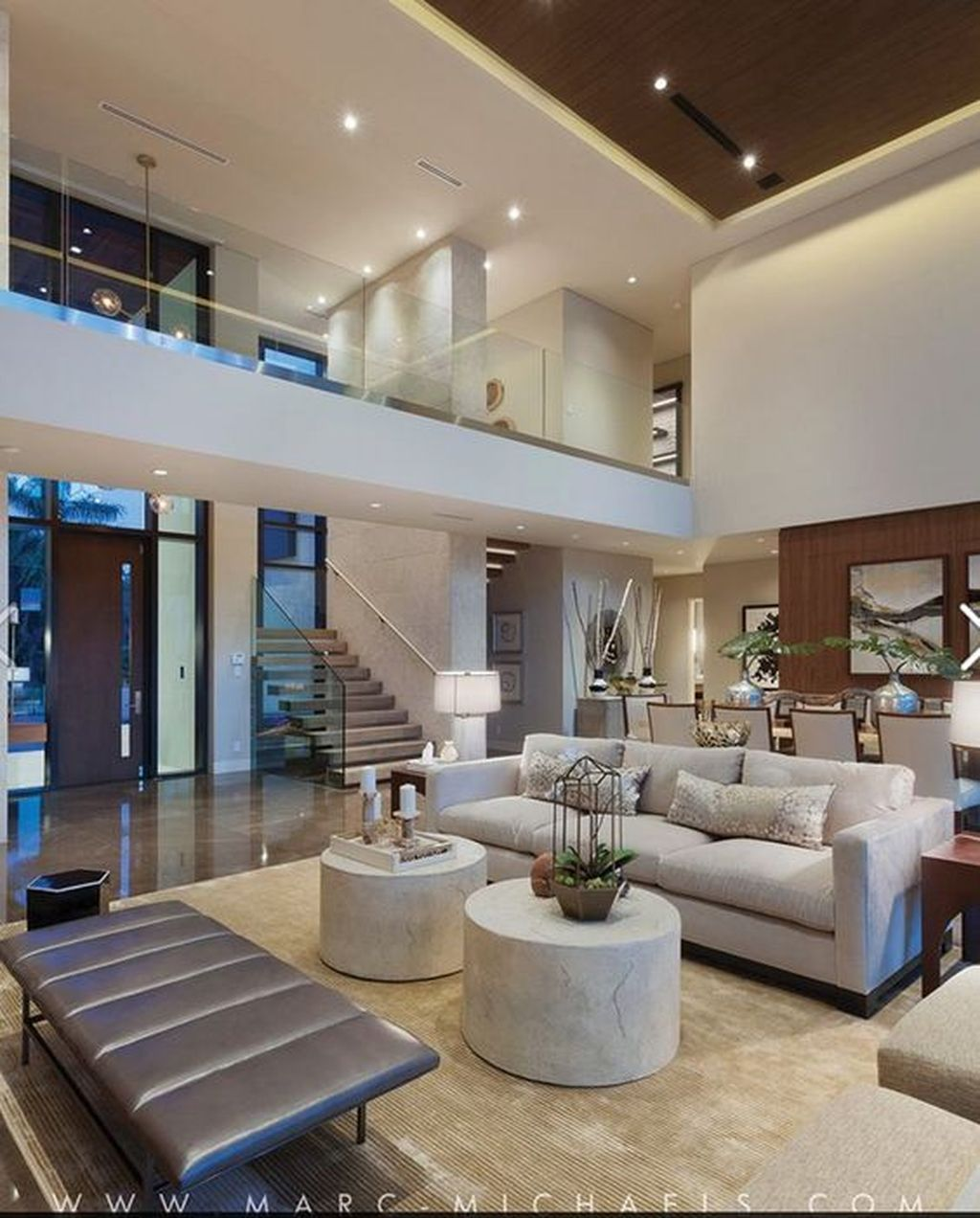 Fox Faux Fur Modern House Design Minimal Interior Design House