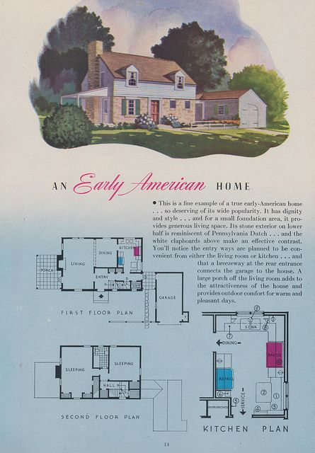 Carnaval De Venise Lauderdale By The Sea Florida Little House Plans Vintage House Plans Early American Homes