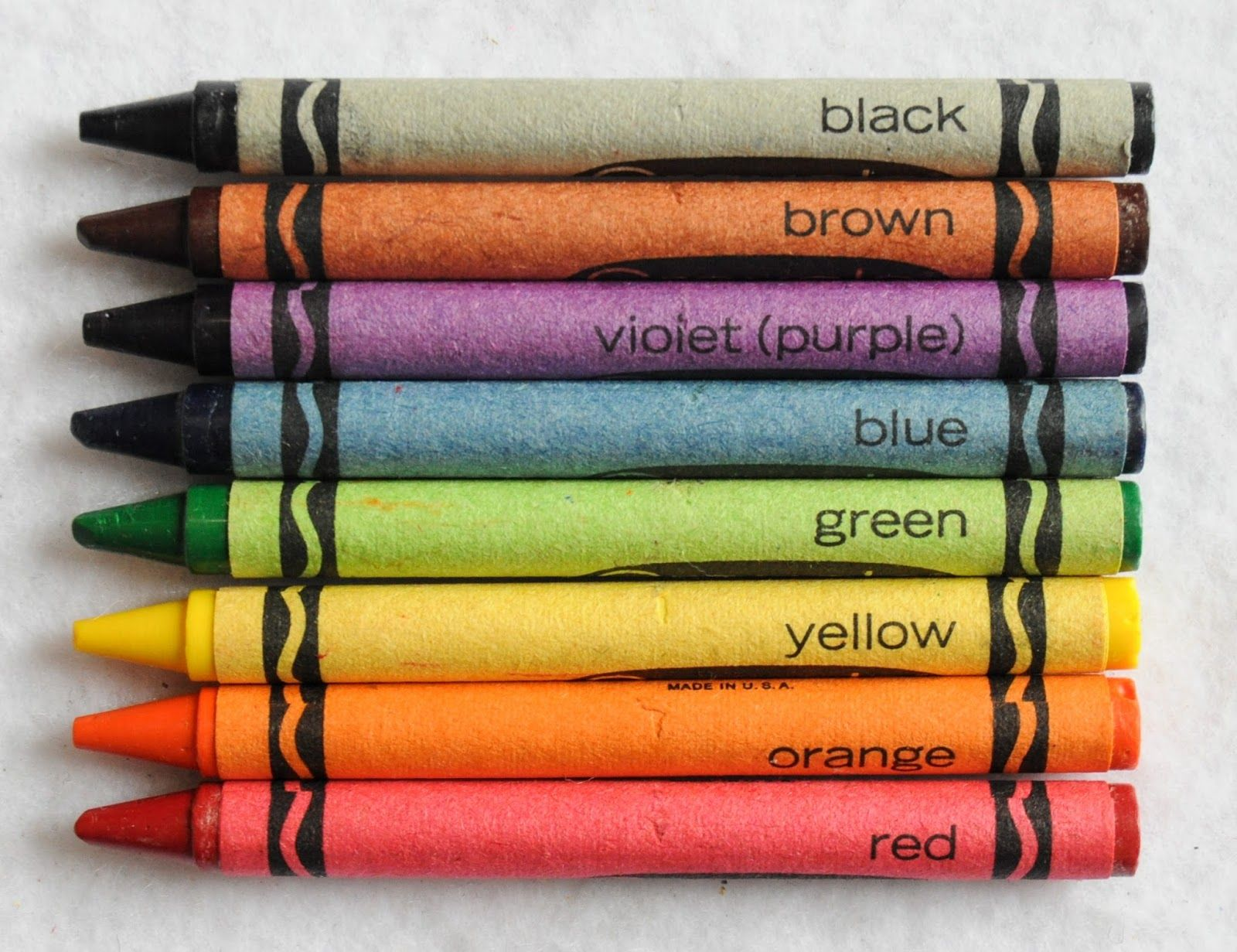 8 Count Crayola Crayons What S Inside The Box