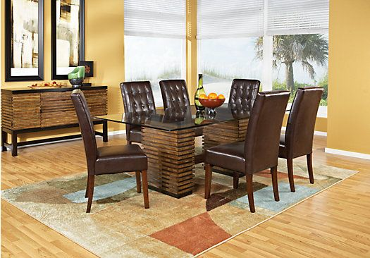 shop for a camden place 5 pc dining room at rooms to go. find