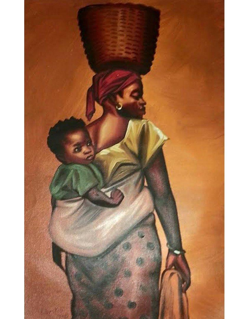 African Paintings Of Children   www.pixshark.com - Images ...