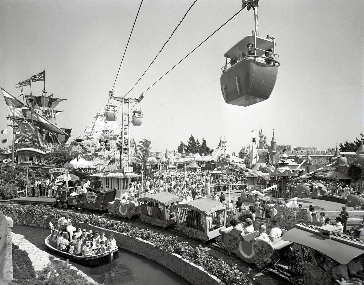 Vintage Disney Parks Vintageyland Disneyland 60th