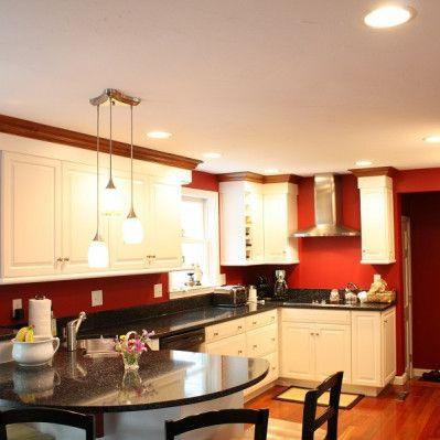 Corner Sink White Kitchen Nashua NH | White kitchen ...