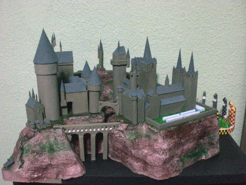Hogwarts Paper Craft Harry Potter Miniatures Harry Potter
