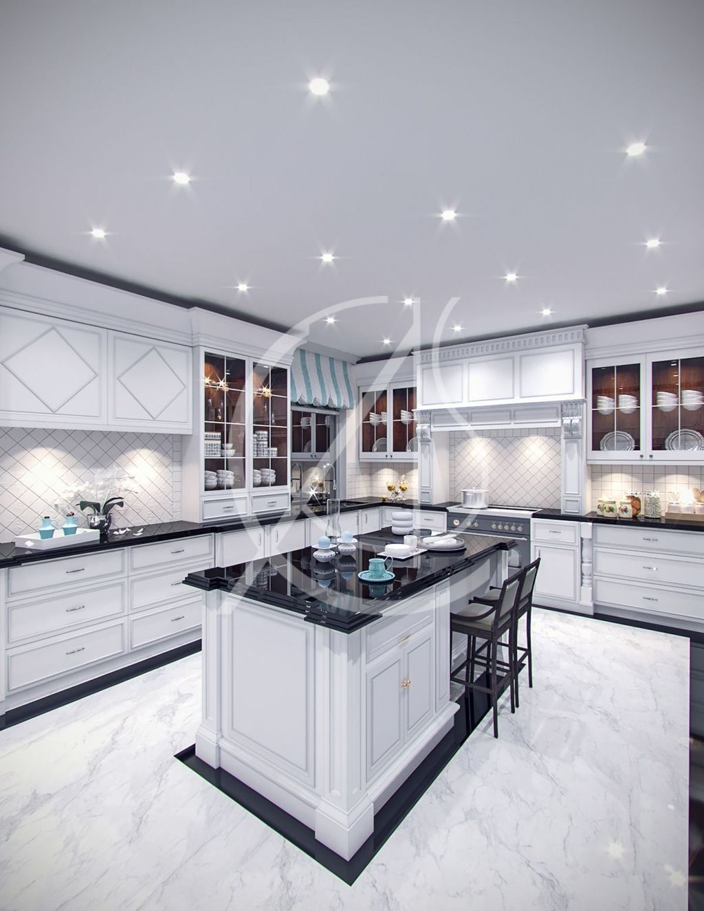 Cool 35 Cheap Marble Kitchen Design Ideas More At Https Homyfeed Com 2019 04 19 35 Cheap Marble K Modern Kitchen Design Interior Design Kitchen Floor Design