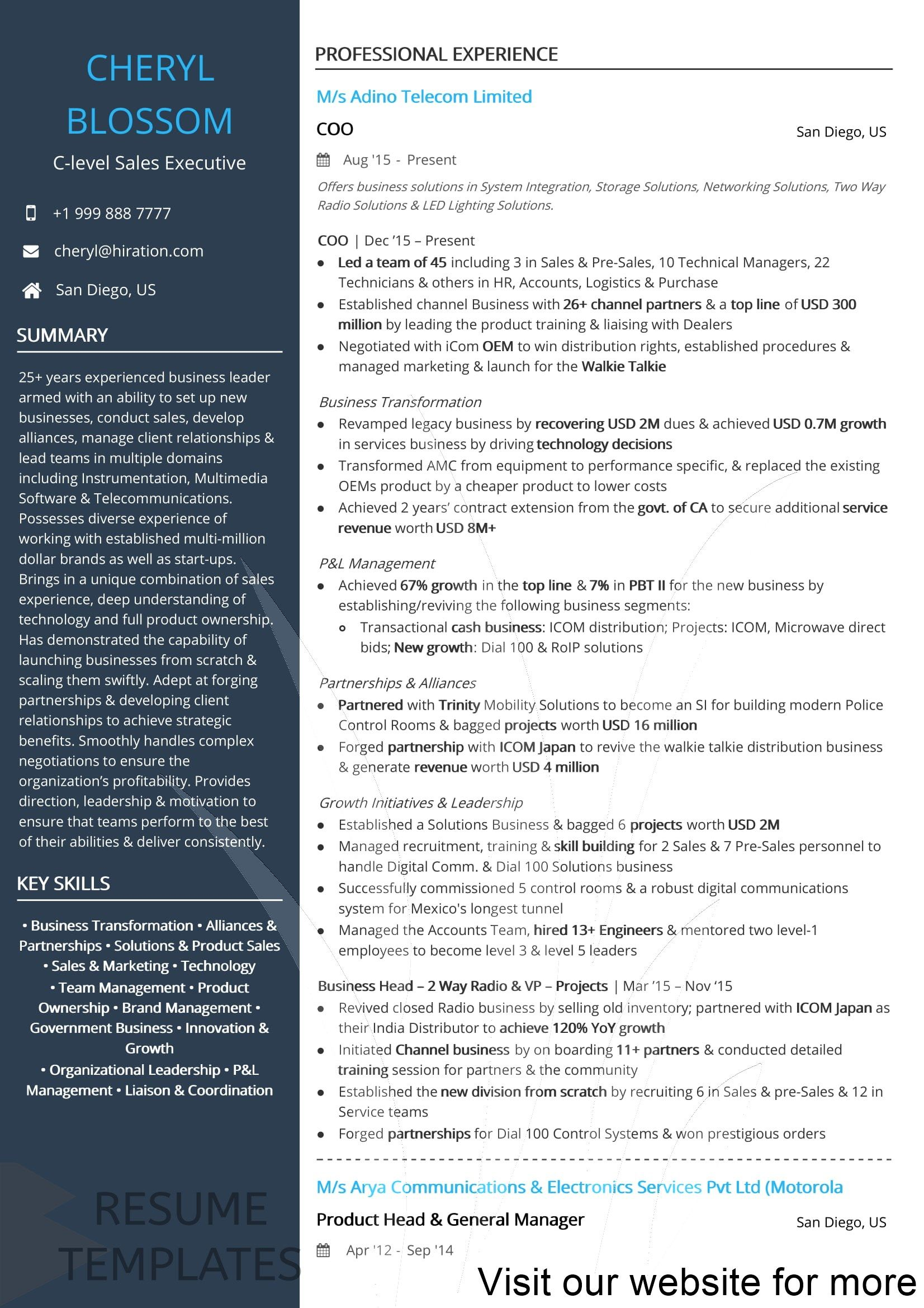 resume examples for engineers Professional in 2020 (With