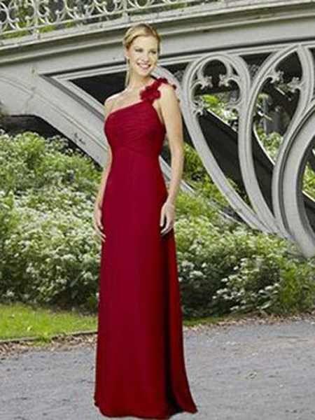 Apple Red Bridesmaid Dresses - Dress Xy