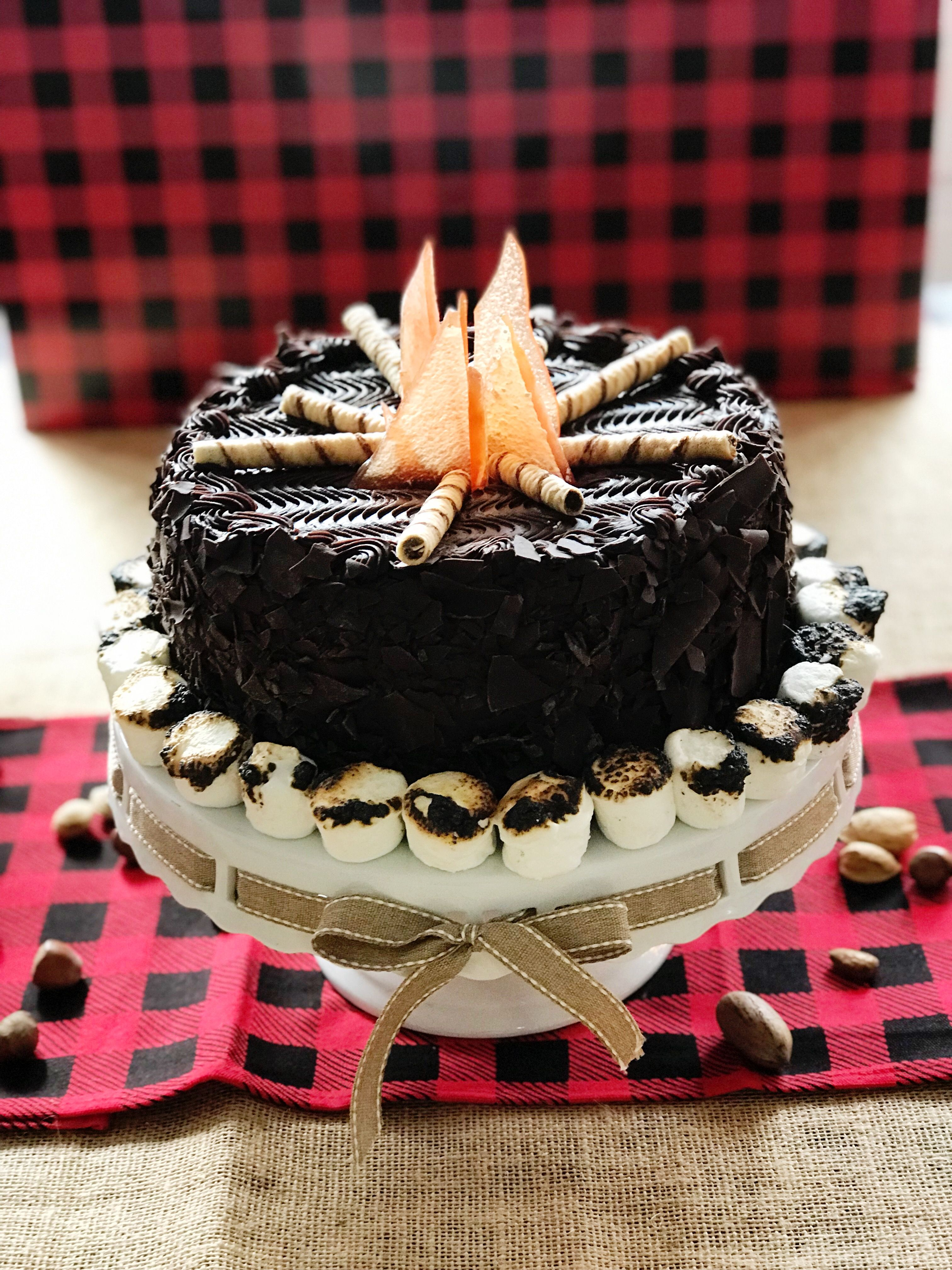 Costco chocolate cake with added decorations!   Costco ...