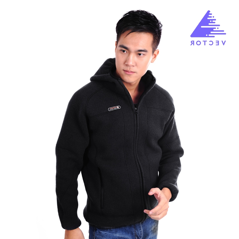 39.75$  Buy now - http://aliywu.worldwells.pw/go.php?t=32607894837 - VECTOR Outdoor Jacket Men Warm Winter Windproof Polartec Fleece Jacket With Hat Blak Red Male Camping Hiking Travel Sport Coat   39.75$
