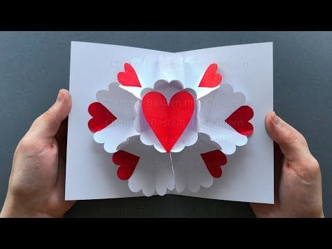 Photo of Pop Up Card: Heart ❤ Pop Up card Mother's Day – DIY Mother's day Gift
