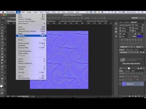 UE4 Tutorial: Photoshop texture and normal map - YouTube