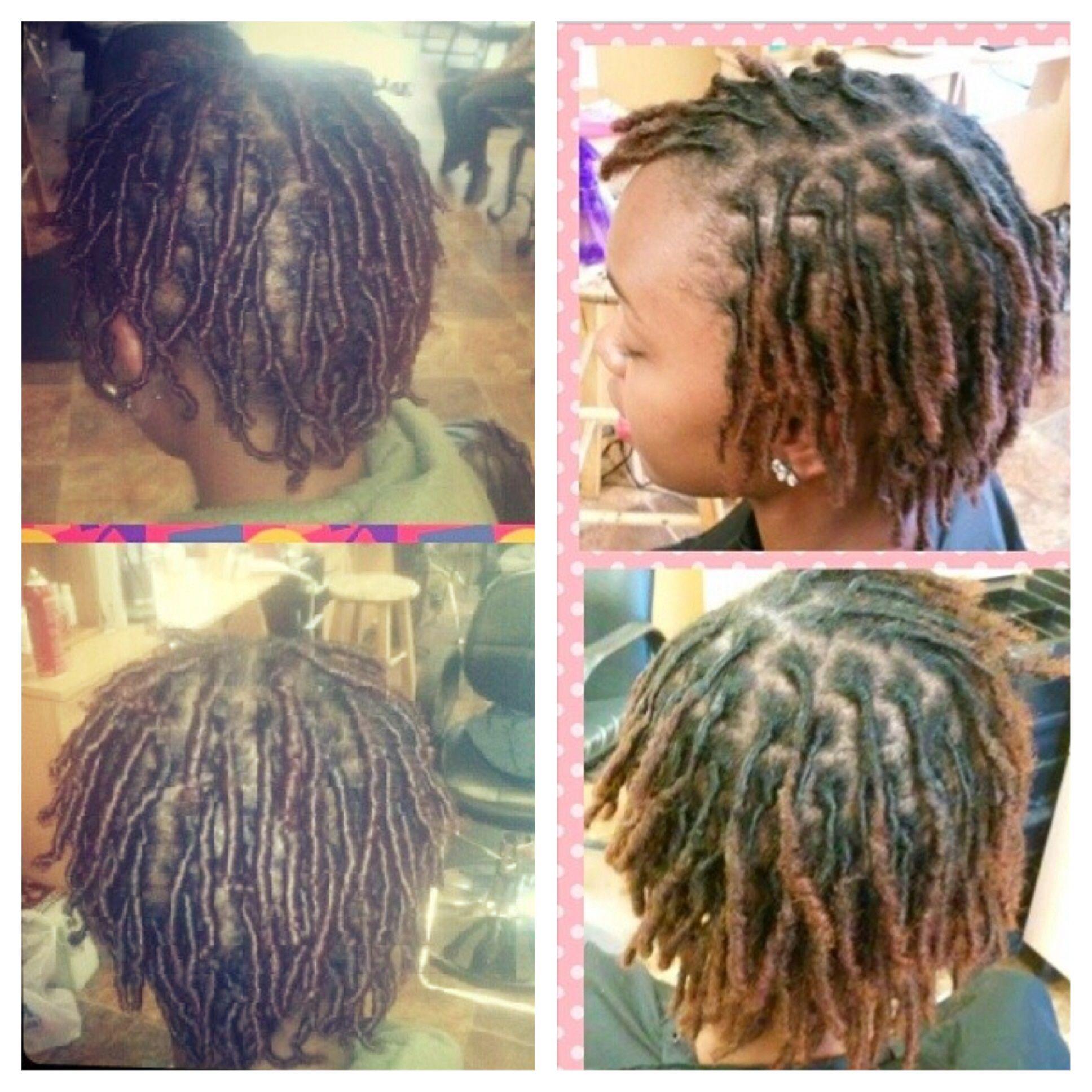 Loc Progress Month 1 Vs Month 3 Short Locs Hairstyles Locs Hairstyles Natural Hair Styles