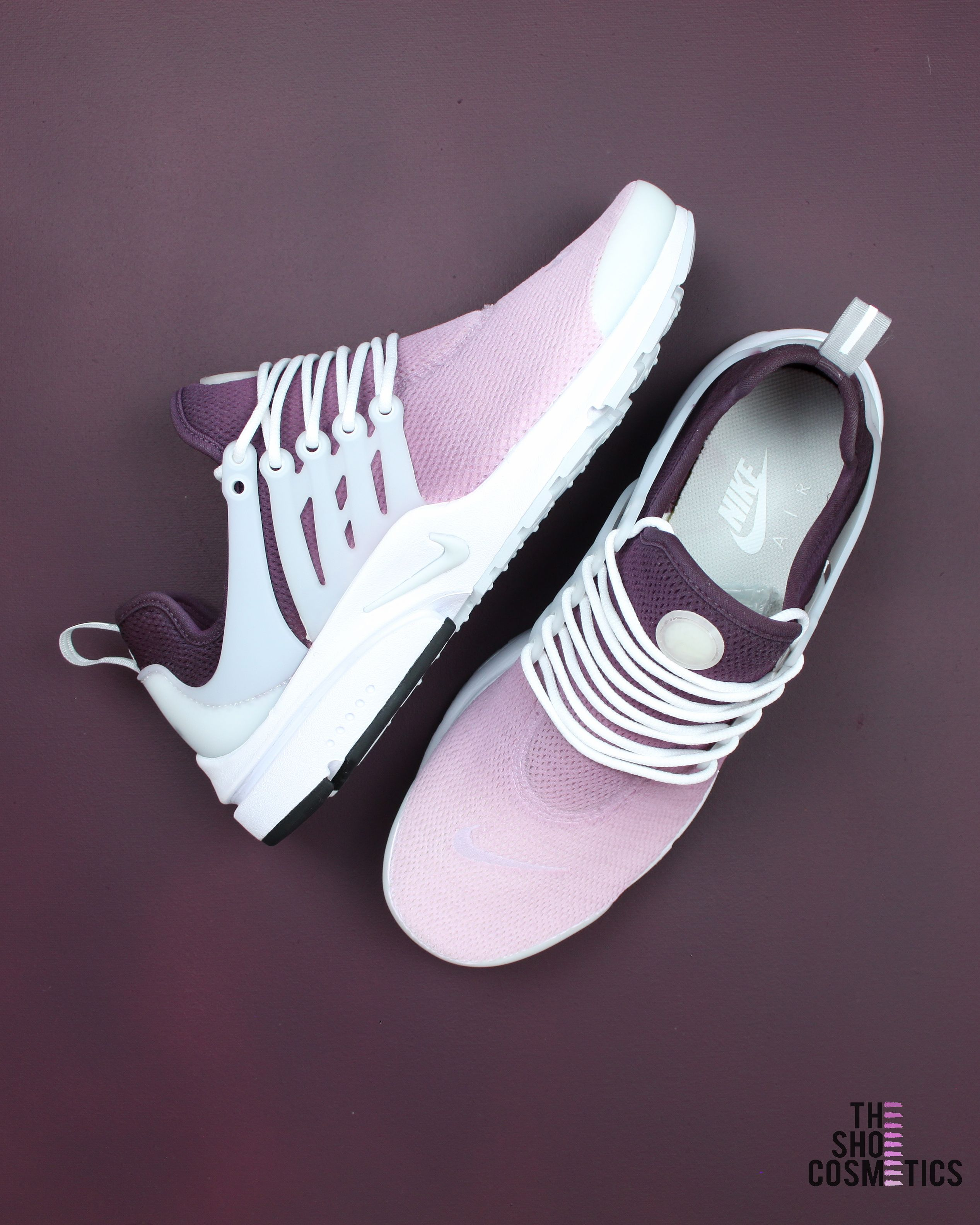 premium selection db310 f718e Explore our custom Nike Air Presto sneakers in this maroon ombre design. If  you love the Nike Air Presto then these Custom Nike shoes are perfect for  you.