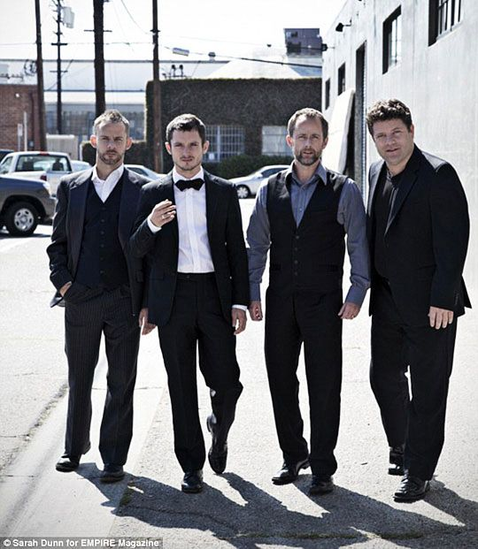 The Hobbits in suits
